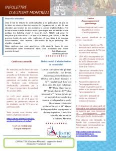 Infolettre Autisme Montréal_SEPTEMBRE_Page_1